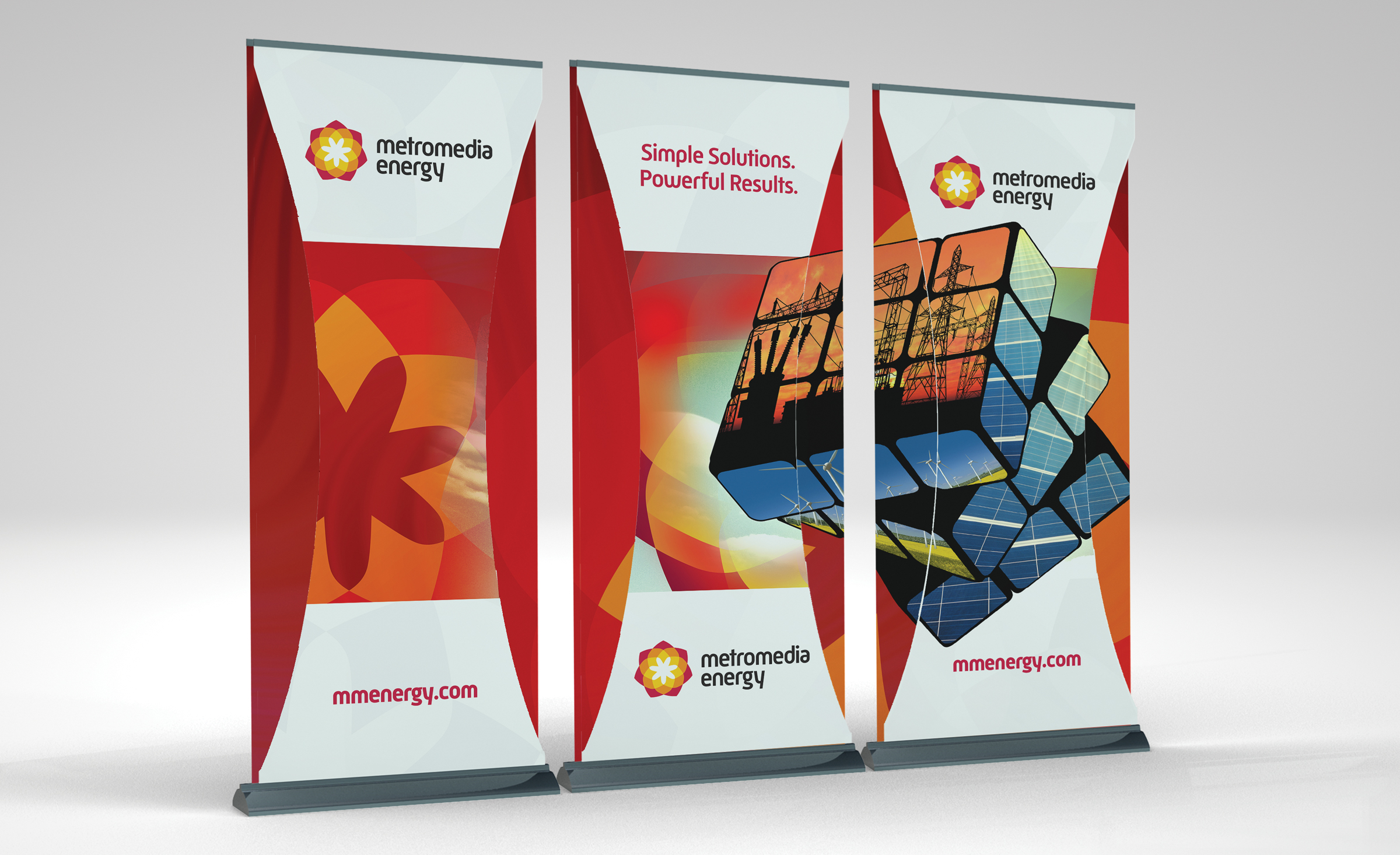 pull up banner promotional material