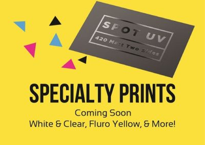 Specialty prints